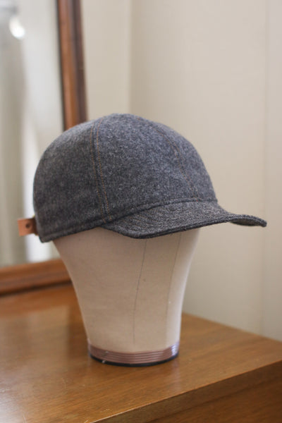 Pendleton Wool 6-Panel Hat | SOLID GREY