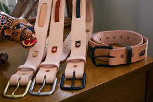Leather Belt | Single Strand Weave