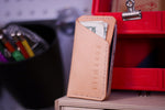 Lil' Leather Wallet | Natural/Yellow/Fuchsia