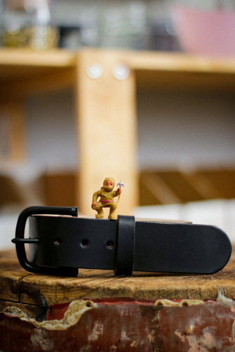 Leather Belt | Hella Black