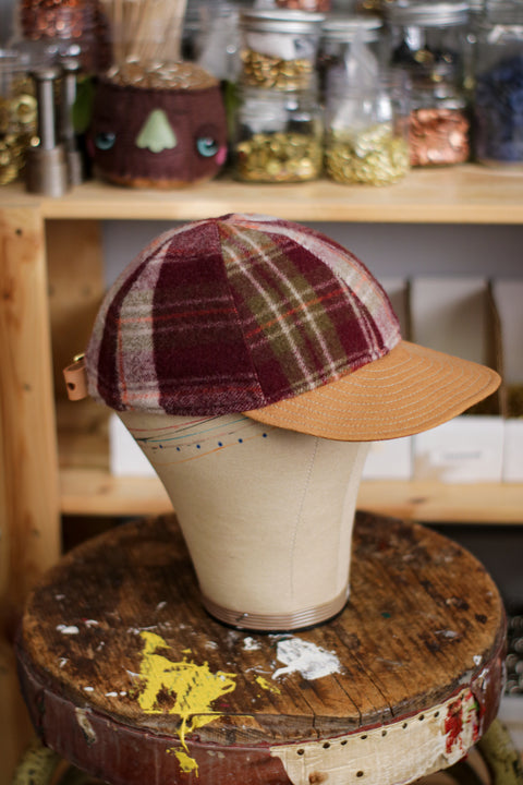 [MISFIT/SAMPLE] Pendleton Wool 6-Panel Hat | LOG CABIN