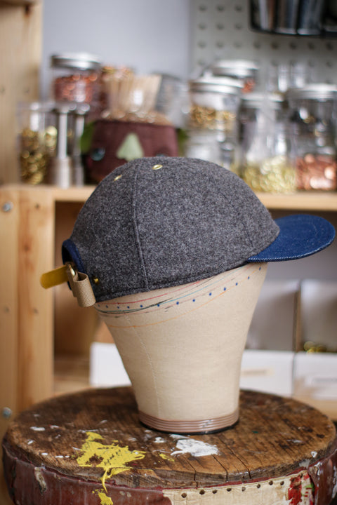 Pendleton Wool 6-Panel Hat | SMOKEYDOODLE - MISFIT!