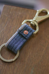 Selvedge Keyfob | Plainweave Denim