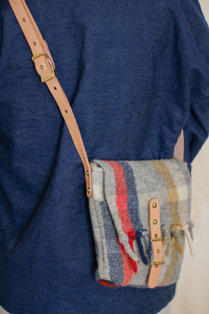 Small Cross Body Bag | Pendleton Wool Blanket