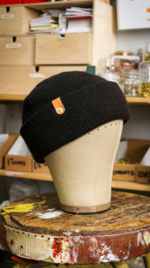 Wool Watch Cap | FAX MACHINE TONER BLACK