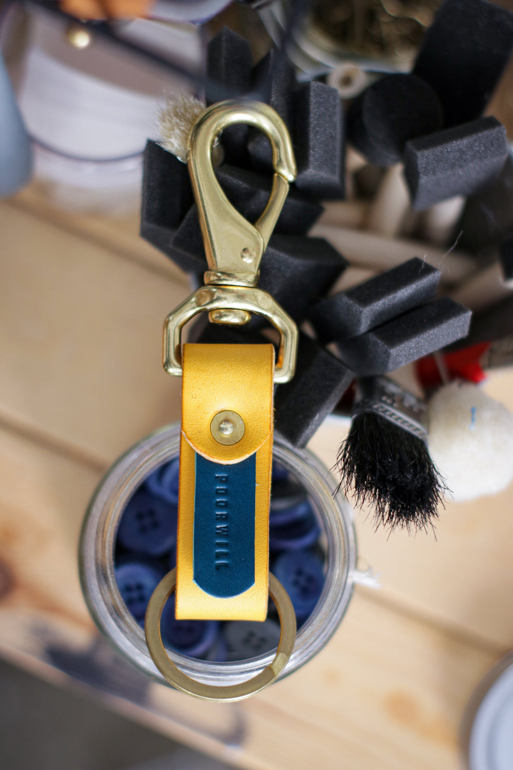 Leather Key Fob | HOT AIR