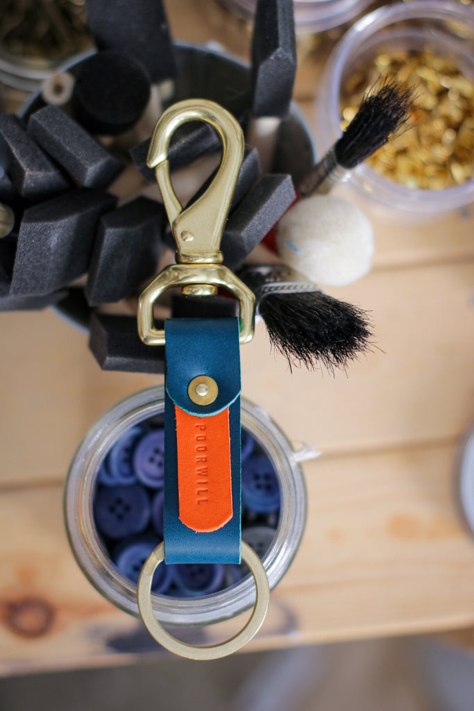 Leather Key Fob | TWISTER