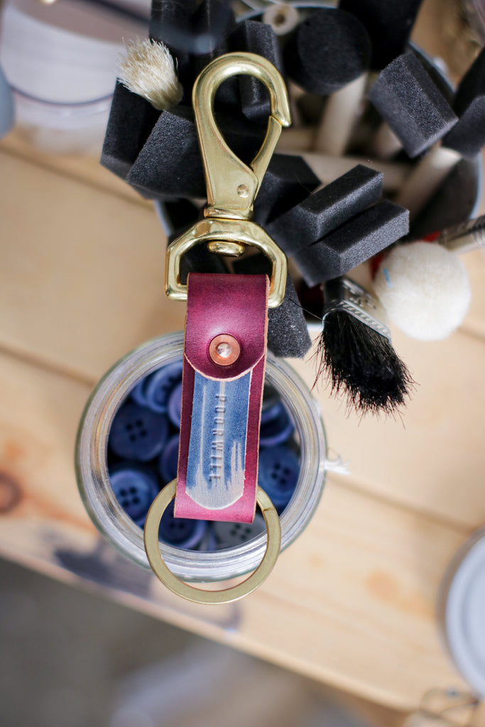 Leather Key Fob | SPACE JELLY