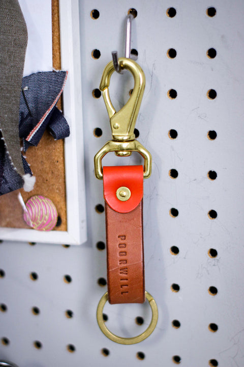 Leather Key Fob | COWBOY