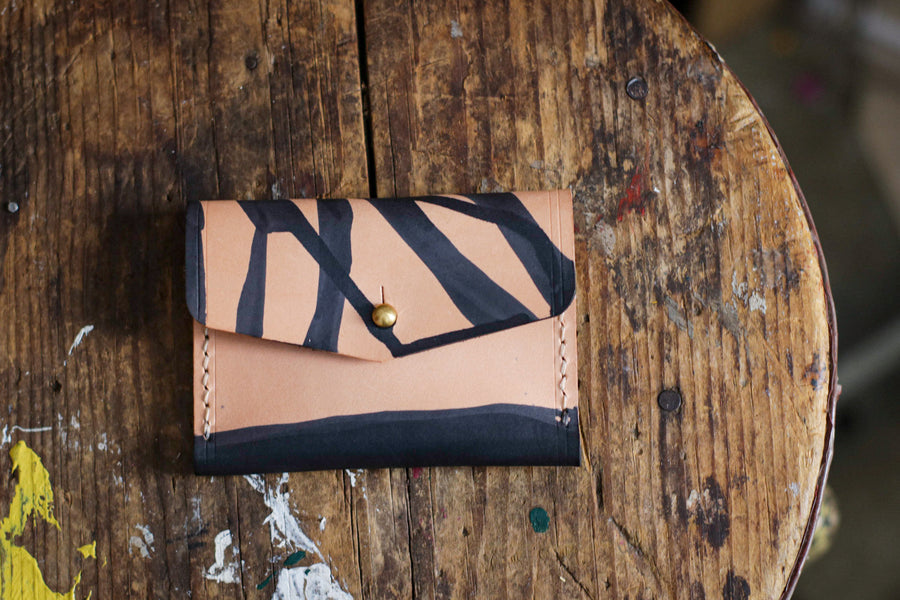 [MISFIT/SAMPLE] Lil' Leather Card Pocket | BUTTERFLY EFFECT