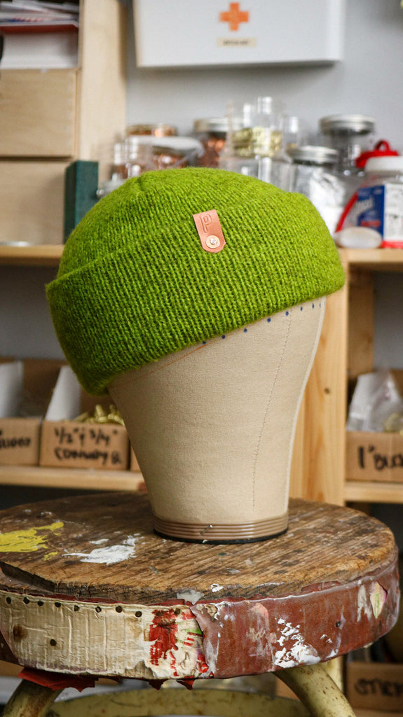 Wool Watch Cap | PALETA DE LIMON GREEN