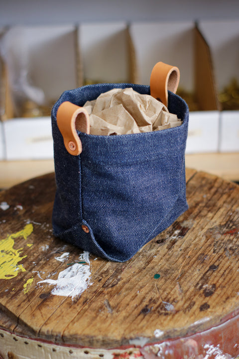 Lil Bucket - SLUBBY DENIM
