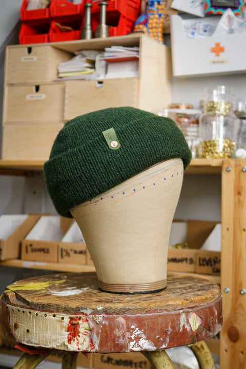 Wool Watch Cap | OLIVE A GOOD GREEN