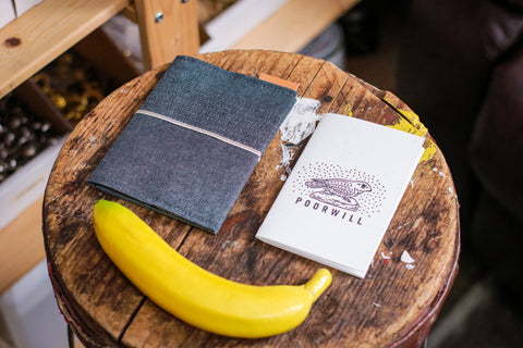 LIL' SELVEDGE NOTEBOOK COVER + NOTEBOOK