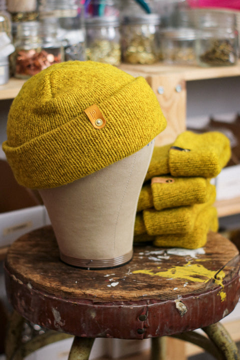 Wool Watch Cap | HELLA AMARILLO