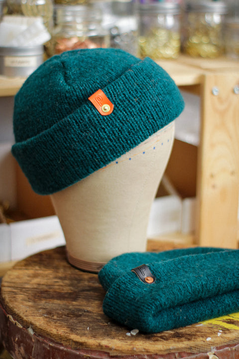 Wool Watch Cap | GALAPAGOS TEAL