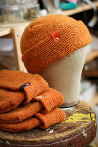 Wool Watch Cap | HELLA ORANGE
