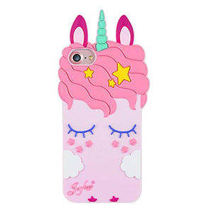 3d Unicorn Silicone Cover custodia For