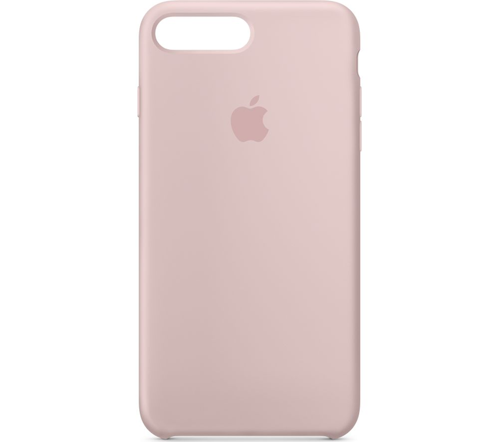 Apple iPhone 7 Plus/8 Plus Silicone Back Cover Pink Sand