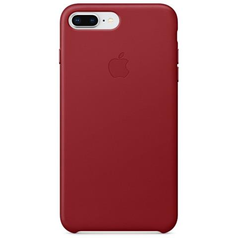 custodia pelle rossa iphone 7 plus