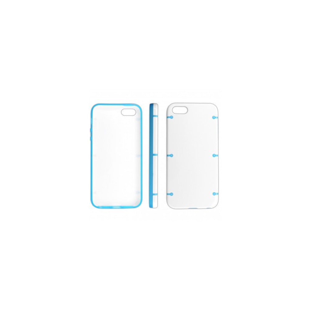 CUSTODIA BACK RIGIDA per APPLE IPHONE 5c COLORE BIANCO