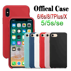 CUSTODIA ORIGINALE IN SILICONE APPLE iPhone 7 8 CASE BACK COVER  eBay