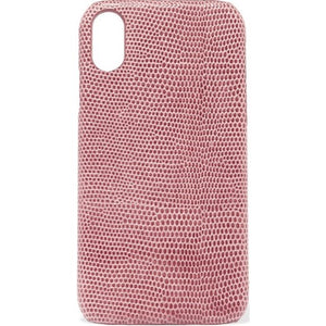 "Chaos - Cover iphone 7/8 plus ""daytona"" in pelle - Rosa/Rosso"