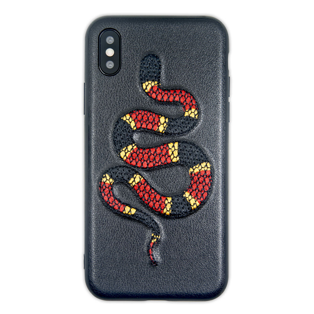 Cover Benjamins ricamata per iPhone X XS - Cover Cellulari