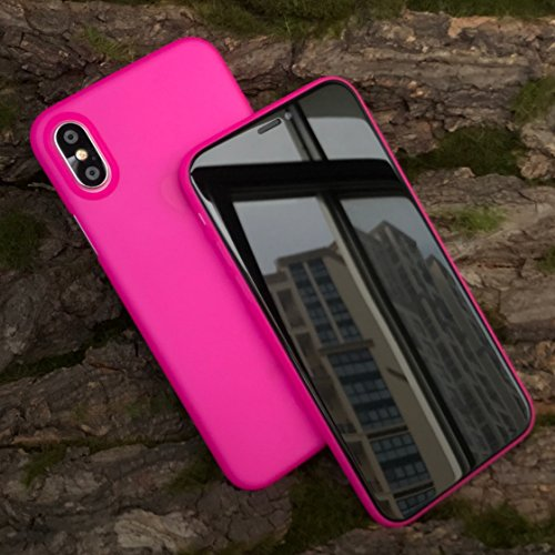 Cover iPhone XCustodia iPhone X Stile Minimalista Anti-graffio