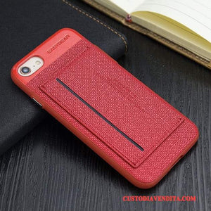 Custodia Iphone 8 Silicone Rosso Affari Cover Iphone 8 Tutto