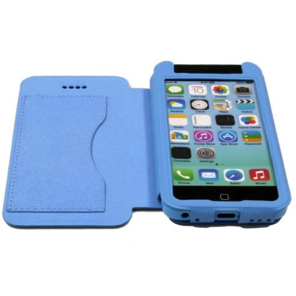 Custodia a libro ultrasottile Dejavu per Apple iPhone 5C/5S/SE