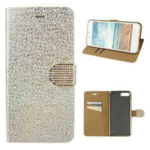Custodia iPhone 7 Plus Portafoglio Cover iPhone 8 Plus Libro 3D