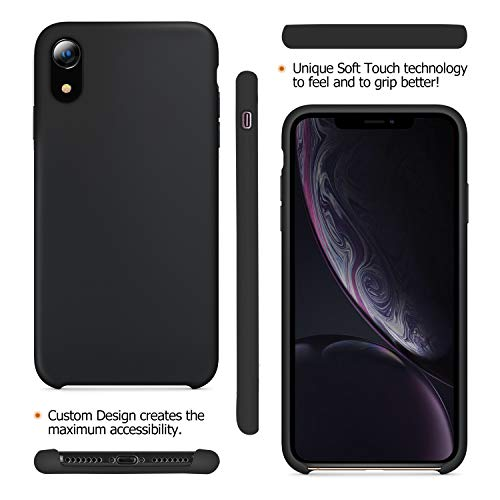 Custodia iPhone Xr Fuleadture [Supporta Ricarica Wireless