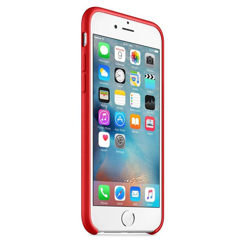 Custodia in Silicone Apple MKY32ZM/A per iPhone 6 iPhone 6S