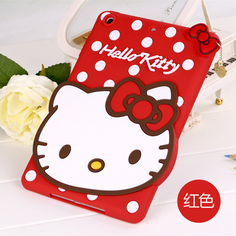 Details about 3D Cute Hello Kitty Cartoon Silicone Cover For Apple