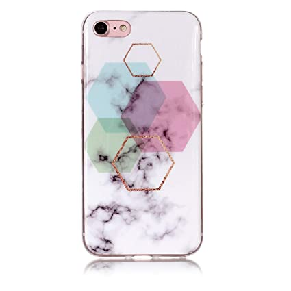 For Ipod Touch 5 6 Marble Soft TPU IMD Silicone Cover Iphone XS