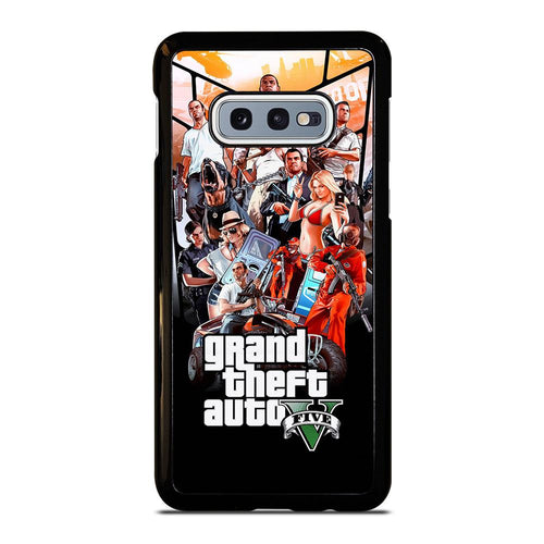 coque custodia cover fundas hoesjes j3 J5 J6 s20 s10 s9 s8 s7 s6 s5 plus edge D25478 GRAND THEFT AUTO V GTA 5 Samsung Galaxy S10 e Case