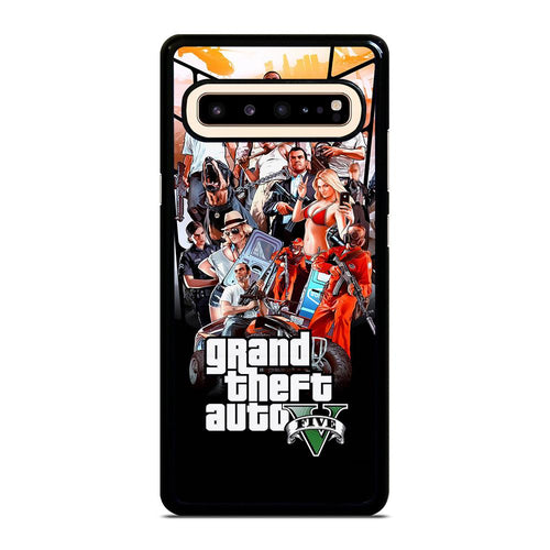 coque custodia cover fundas hoesjes j3 J5 J6 s20 s10 s9 s8 s7 s6 s5 plus edge D25476 GRAND THEFT AUTO V GTA 5 Samsung Galaxy S10 5G Case