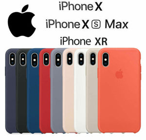 Genuine Originale Silicone Sottile Custodia Cover per Apple iPhone