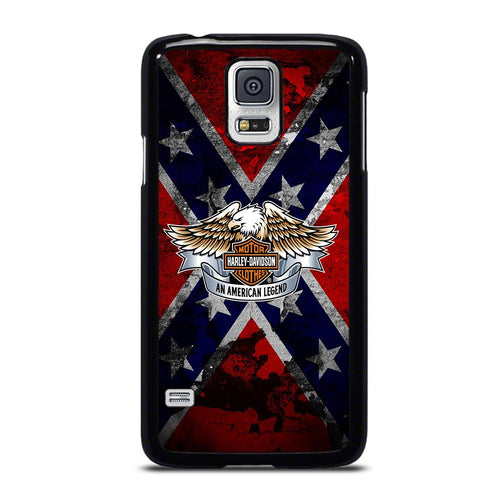 coque custodia cover fundas hoesjes j3 J5 J6 s20 s10 s9 s8 s7 s6 s5 plus edge D26375 HARLEY DAVIDSON REBEL Samsung Galaxy S5 Case