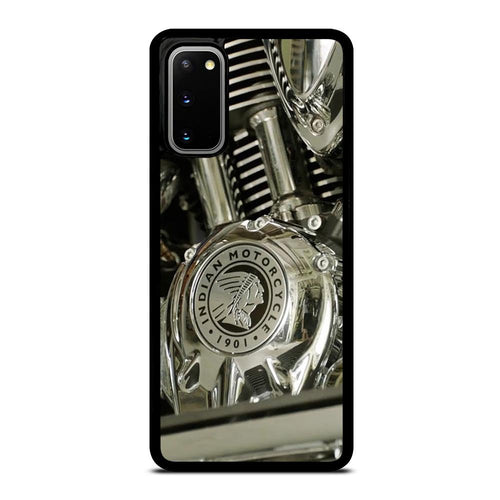 coque custodia cover fundas hoesjes j3 J5 J6 s20 s10 s9 s8 s7 s6 s5 plus edge D27814 INDIAN MOTORCYCLE SINCE 1901 MACHINE Samsung Galaxy S20 Case