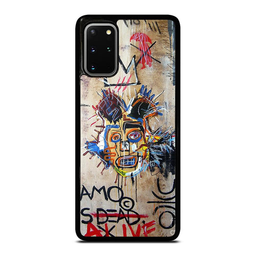 coque custodia cover fundas hoesjes j3 J5 J6 s20 s10 s9 s8 s7 s6 s5 plus edge D27699 IN MEMORY BASQUIAT Samsung Galaxy S20 Plus Case