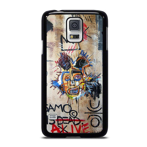 coque custodia cover fundas hoesjes j3 J5 J6 s20 s10 s9 s8 s7 s6 s5 plus edge D27701 IN MEMORY BASQUIAT Samsung Galaxy S5 Case