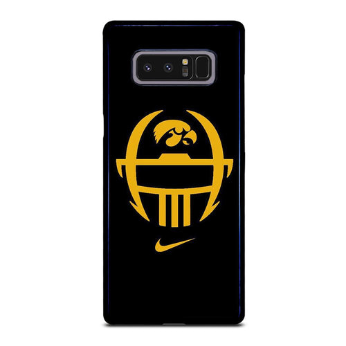 coque custodia cover fundas hoesjes j3 J5 J6 s20 s10 s9 s8 s7 s6 s5 plus edge D27899 IOWA HAWKEYES #5 Samsung Galaxy Note 8 Case