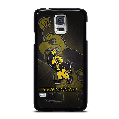 coque custodia cover fundas hoesjes j3 J5 J6 s20 s10 s9 s8 s7 s6 s5 plus edge D27940 IOWA HAWKEYES #8 Samsung Galaxy S5 Case