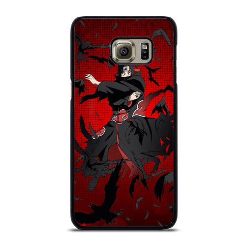 coque custodia cover fundas hoesjes j3 J5 J6 s20 s10 s9 s8 s7 s6 s5 plus edge D28007 ITACHI UCHIHA Samsung Galaxy S6 Edge Plus Case