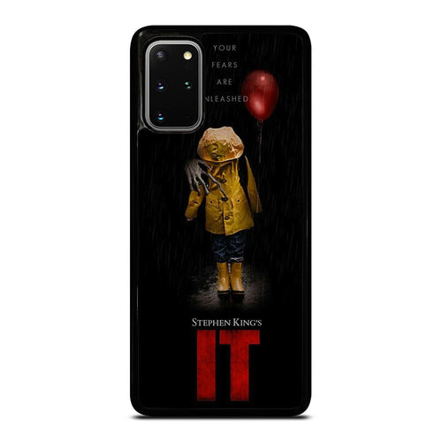 coque custodia cover fundas hoesjes j3 J5 J6 s20 s10 s9 s8 s7 s6 s5 plus edge D27976 IT PENNYWISE CLOWN 1 Samsung Galaxy S20 Plus Case