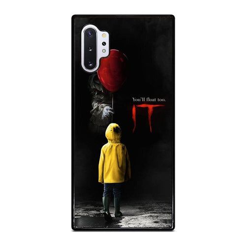 coque custodia cover fundas hoesjes j3 J5 J6 s20 s10 s9 s8 s7 s6 s5 plus edge D27984 IT PENNYWISE CLOWN Samsung Galaxy Note 10 Plus Case