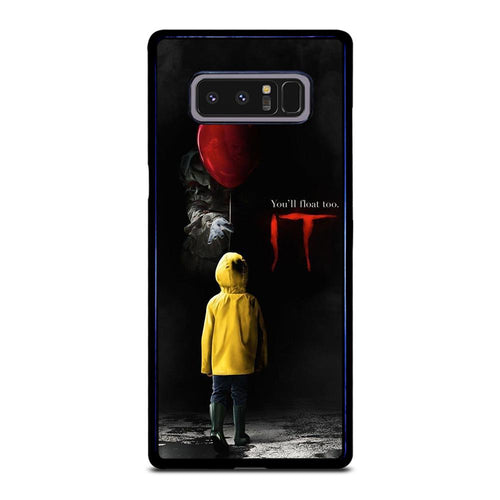 coque custodia cover fundas hoesjes j3 J5 J6 s20 s10 s9 s8 s7 s6 s5 plus edge D27985 IT PENNYWISE CLOWN Samsung Galaxy Note 8 Case