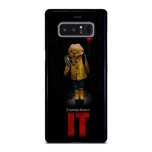 coque custodia cover fundas hoesjes j3 J5 J6 s20 s10 s9 s8 s7 s6 s5 plus edge D27970 IT PENNYWISE CLOWN 1 Samsung Galaxy Note 8 Case